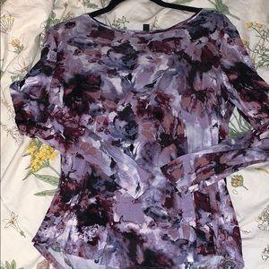 Vera wang water color blouse